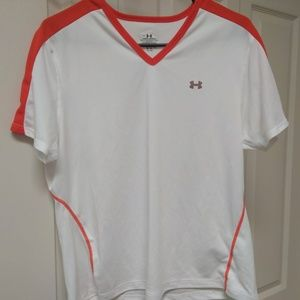 Womens Under Armour V Neck Athletic Top